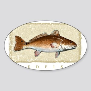 Redfish Sticker (Oval)