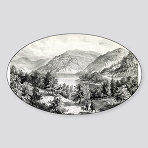 View on the Potomac - Near Harper's Ferry - 1866 S