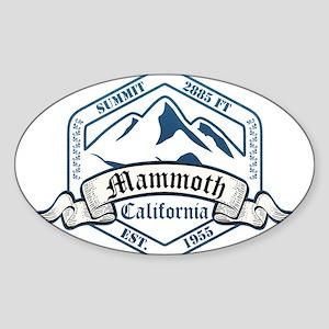 Mammoth Ski Resort California Sticker