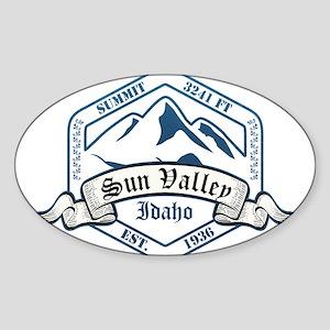 Sun Valley Ski Resort Idaho Sticker