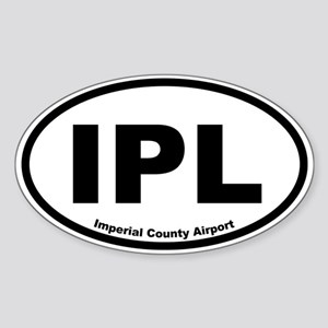 Imperial County Airport Oval Sticker