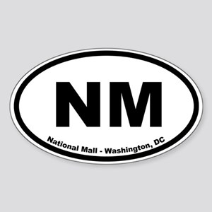 National Mall and Memorial Parks Oval Sticker