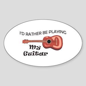 MY GUITAR Sticker