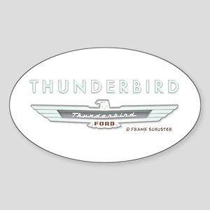 Thunderbird Emblem Sticker (Oval)