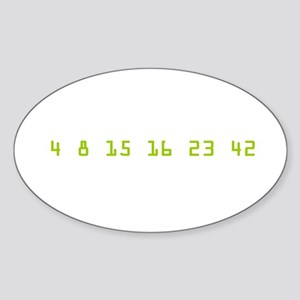 Every 108 Minutes Sticker (Oval)