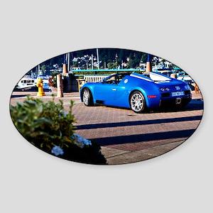 Bugatti7 Sticker (Oval)