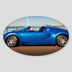 Bugatti6 Sticker (Oval)
