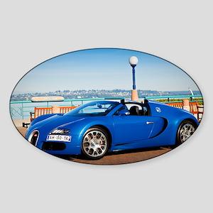 Bugatti5 Sticker (Oval)