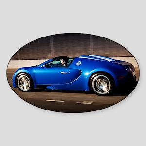 Bugatti8 Sticker (Oval)