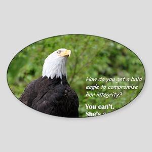 Integrity Sticker (Oval)