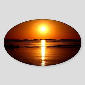 Sunset Sticker (Oval)
