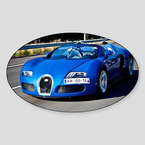 Bugatti9 Sticker (Oval)
