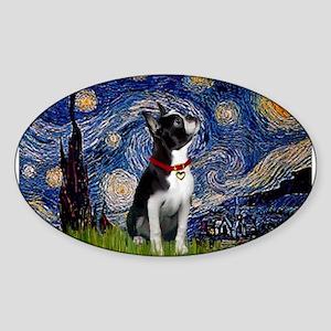 Starry Night & Boston Sticker