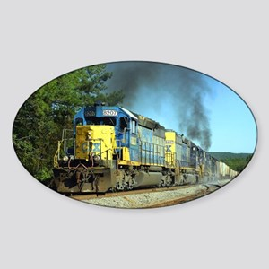 CSX Smoker Sticker (Oval)