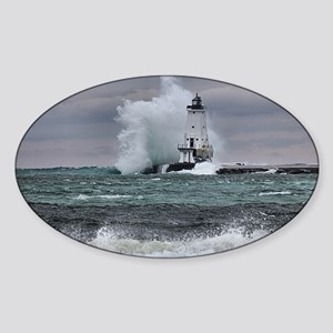 ludington 3 Sticker (Oval)