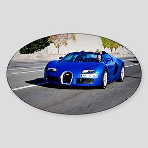 Bugatti10 Sticker (Oval)