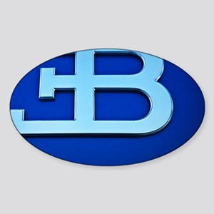 Bugatti3 Sticker (Oval)
