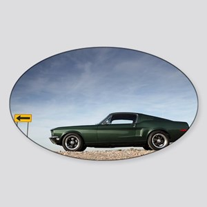Mustang Sticker (Oval)