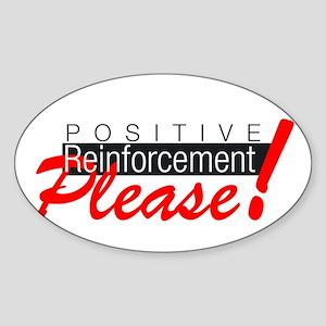 SR+ please copy Sticker (Oval)