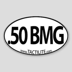 .50 BMG Euro Style Sticker (Oval)