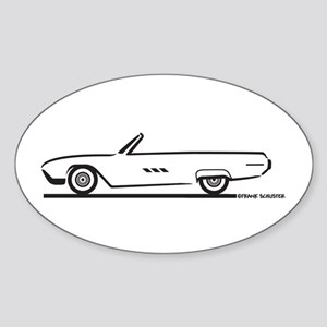1963 Ford Thunderbird Convertible Oval Sticker