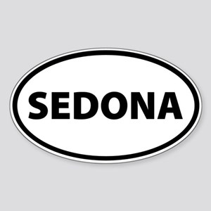 Sedona Oval Sticker
