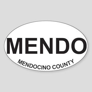 MENDO Oval Sticker