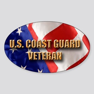 usa uscg vet Sticker (Oval)