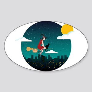Halloween Witch Befana Sticker