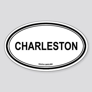 Charleston (South Carolina) Oval Sticker