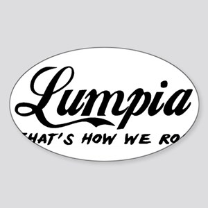 Lumpia that's how we roll Sticker