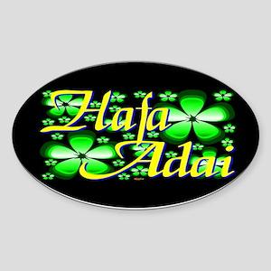 Hafa Adai Oval Sticker