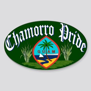 Chamorro Oval Sticker