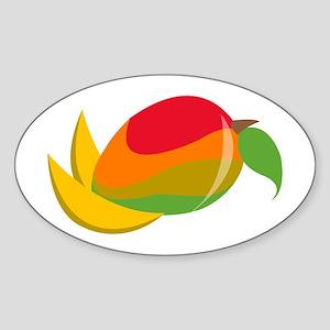 Mango Fruit Sticker