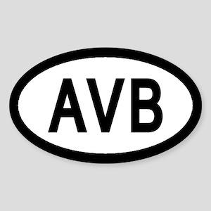 Aviano Air Base Euro Style Sticker
