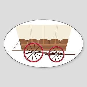 Prairie Wagon Sticker