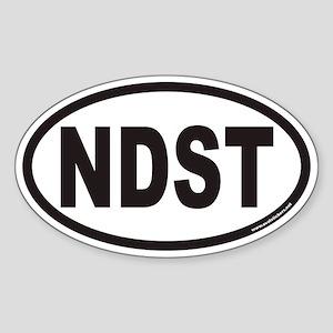 NDST Euro Oval Sticker