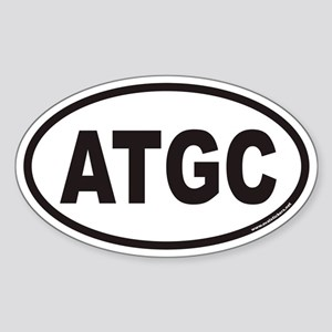 ATGC Euro Oval Sticker