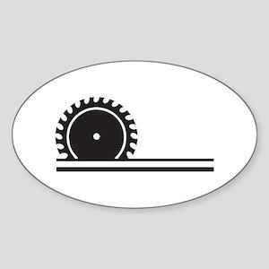 SAW BLADE Sticker