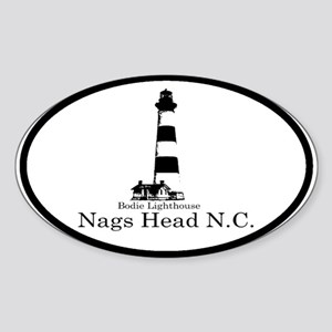 Bodie Lighthouse Oval Sticker