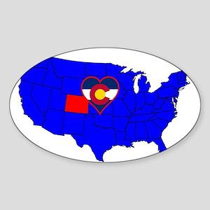 State of Colorado Sticker