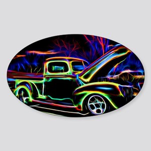 1940 Ford Pick up Truck Neon Sticker