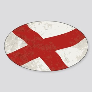 Alabama Sate Flag Grunge Sticker