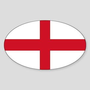 St George Cross Sticker