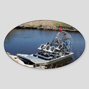 Florida swamp airboat 2 Sticker