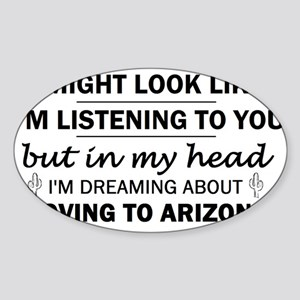 Moving to Arizona Sticker