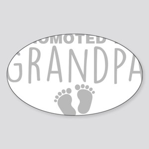 Promoted To Grandpa Sticker