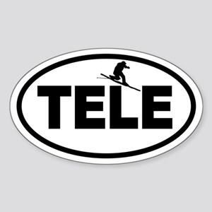 Telemark Oval Sticker