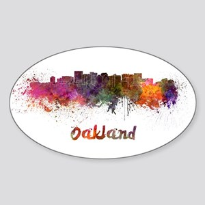 I Love Oakland Sticker