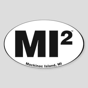 Mackinac Island Euro Sticker
